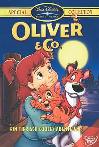 Oliver & Company [DVD] [1989]