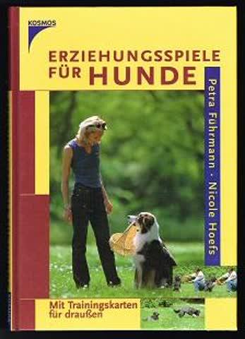 Erziehungsspiele für Hunde: Mit Trainingskarten für draussen