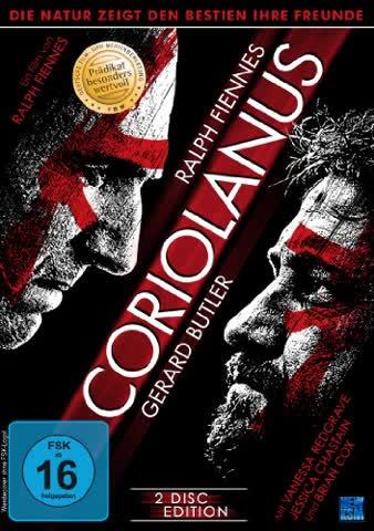 Coriolanus (2 Disc Edition) (Prädikat:Besonders Wertvoll) [2 DVDs]