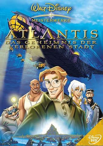 Disney DVD Atlantis
