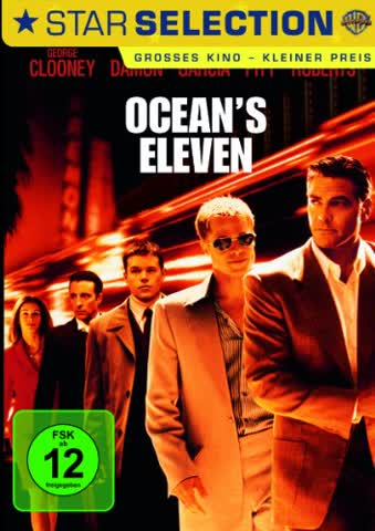 Ocean's Eleven [DVD] (2002) George Clooney, Brad Pitt, Matt Damon, Julia Roberts