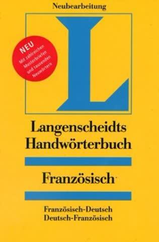 Langenscheidts Handwörterbuch, Französisch