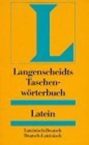 Langenscheidts Taschenwörterbuch Latein