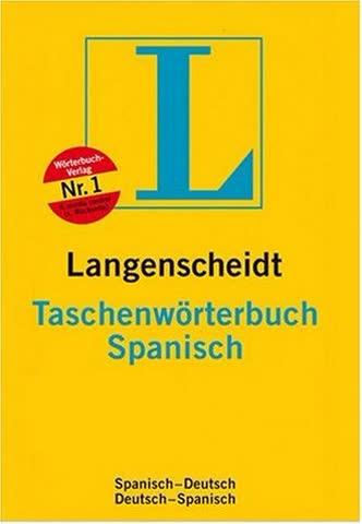 Taschenwörterbuch Spanisch. Langenscheidt