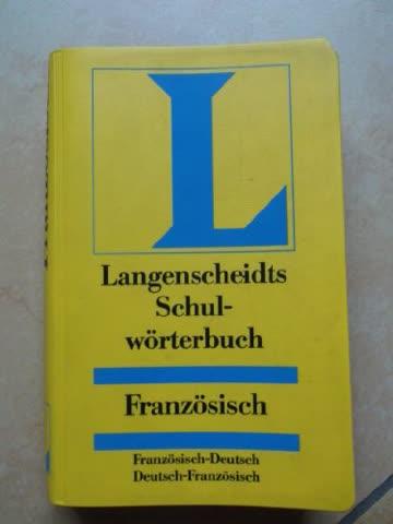 Langenscheidts Schulwörterbuch Französisch