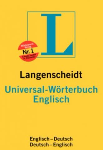 Langenscheidts Universal-Wörterbuch : Englisch