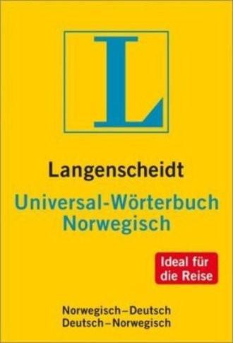 Langenscheidt Universal Wörterbuch Norwegisch ( Bokmal): Norwegisch-Deutsch / Deutsch-Norwegisch. NEU: Ideal für die Reise