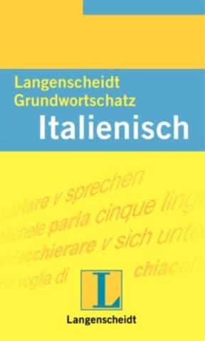 Langenscheidt Grundwortschatz Italienisch