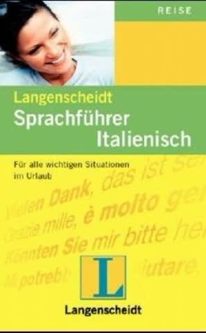 Langenscheidts Sprachführer, Italienisch