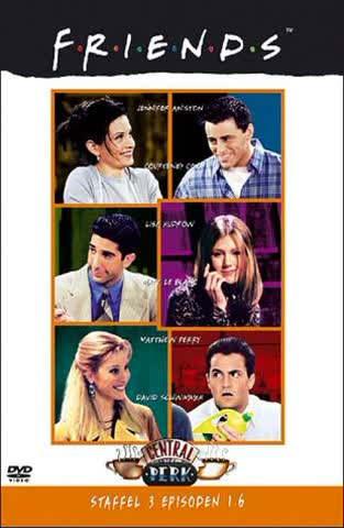 Friends, Staffel 3, Episoden 01-06