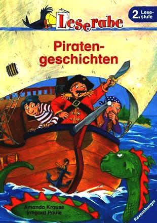 Leserabe. Piratengeschichten. 2. Lesestufe, ab 2. Klasse