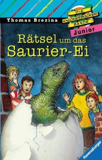 Die Knickerbocker-Bande junior, Bd.11, Rätsel um das Saurier-Ei