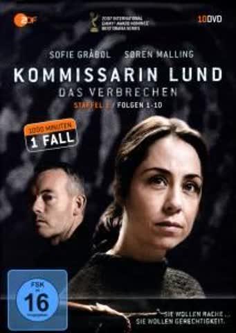 Kommissarin Lund Staffel 1,Folge 01-10,Komplette Box [Import allemand]