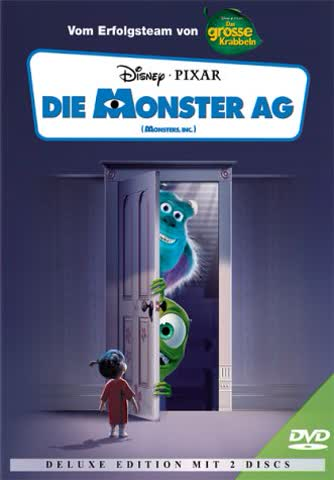 Die Monster AG - Deluxe Edition (2 DVDs) [Deluxe Edition] [Deluxe Edition]