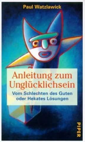 Anleitung zum Unglücklichsein (8299 927).
