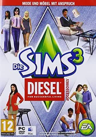 Die Sims 3 DIESEL-Accessoires [AT PEGI]