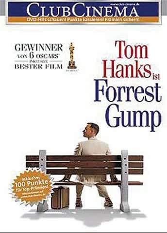 FORREST GUMP - MOVIE [DVD] [1994]