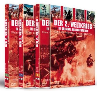 Der 2. Weltkrieg in Original Farbaufnahmen (3 DVDs)