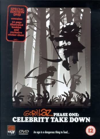 Gorillaz - Phase One: Celebrity Take Down (DVD + CD-ROM) (Limited Edition)