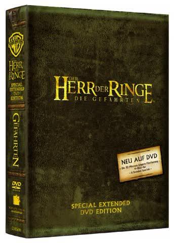Der Herr der Ringe - Die Gefährten (Special Extended Edition) [4 DVDs]