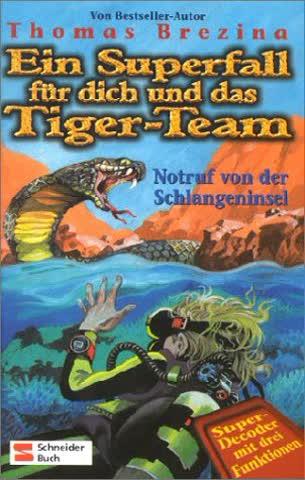 Ein Superfall für dich und das Tiger-Team, Bd.2, Notruf von der Schlangeninsel: Super-Decoder mit drei Funktionen