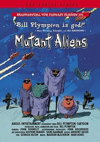Mutant Aliens - The Anolis Series (German Release)