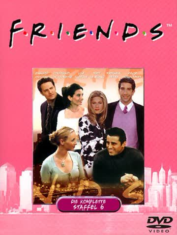 Friends - Die komplette Staffel 6 (4 DVDs)