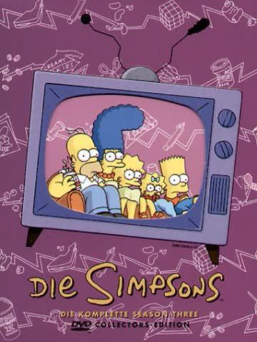Die Simpsons - Die komplette Season 3 (Collector's Edition, 4 DVDs)