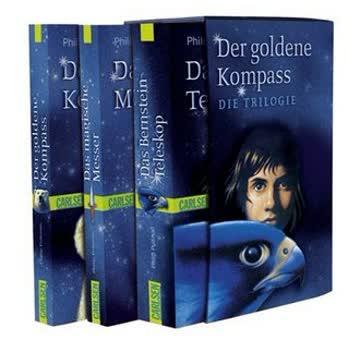 Der Goldene Kompass. Die Trilogie; Der Goldene Kompass / Das Magische Messer / Das Bernstein-Telesko