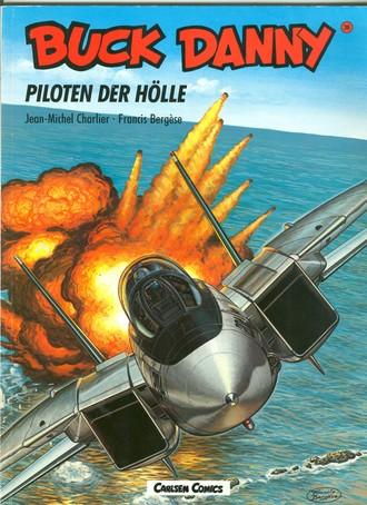 Buck Danny, Carlsen Comics, Bd.36, Piloten der Hölle