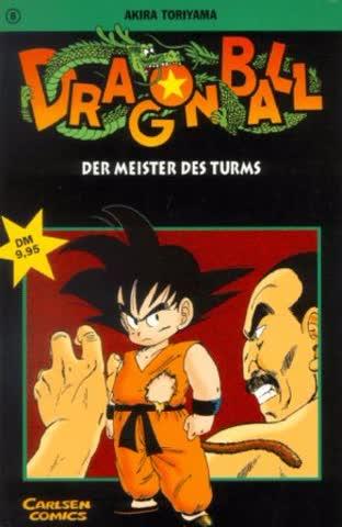 Dragon Ball, Band 8 - Der Meister Des Turms