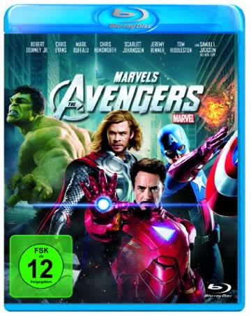Marvel's The Avengers [Blu-ray] [2012] [Region A & B & C]