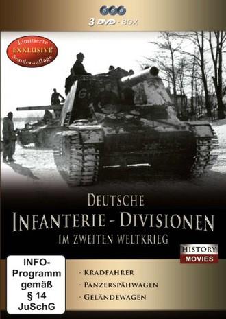 Deutsche Infanterie-Divisionen im Zweiten Weltkrieg [Limited Edition] [3 DVDs]