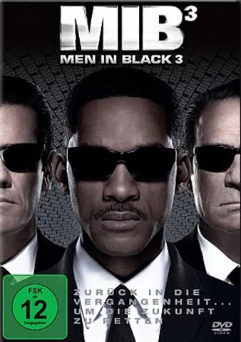 MEN IN BLACK 3 - SMITH WILL , [DVD] [2012]