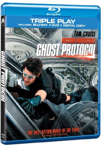 Mission Impossible - Ghost Protocol [BLU-RAY]