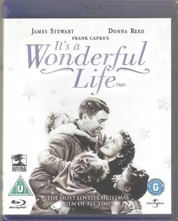 It's A Wonderful Life - Original + Colourized Version [Blu-ray] [UK Import]