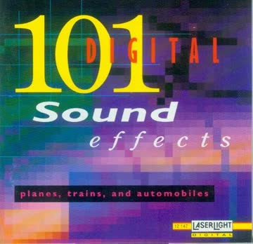 101 digital Sound Effects - Planes, trains and automobiles
