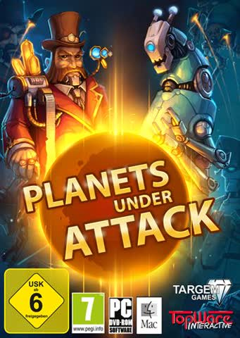Planets under Attack [DVD]