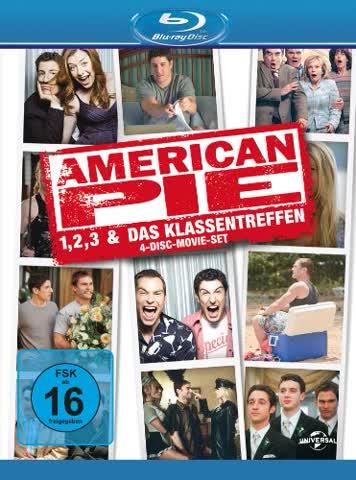 American Pie 1, 2, 3 & Das Klassentreffen [Blu-ray] [Limited Edition] [4 Blu-rays]
