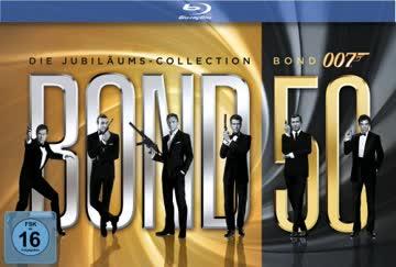 James Bond - Bond 50: Die James Bond Jubiläums-Collection [23 Blu-rays]