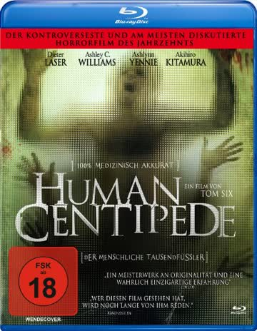 Human Centipede (Blu-Ray) [Import allemand]