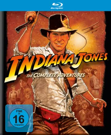 INDIANA JONES THE COMPLET - MO