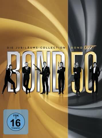 DVD James Bond Box (22 DVDs) [Import allemand]