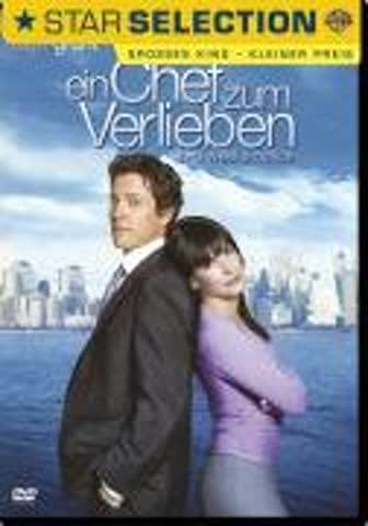 Ein Chef zum Verlieben [DVD] (2003) Sandra Bullock, Hugh Grant, Alicia Witt