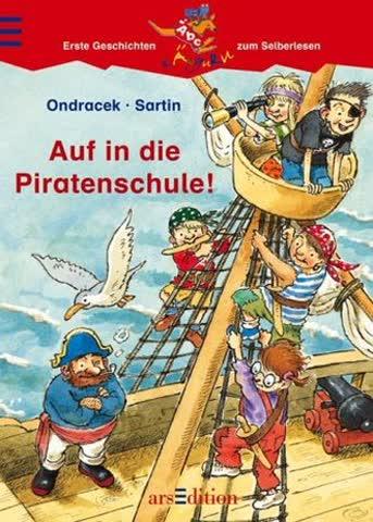Auf in die Piratenschule! (Känguru - Erste Geschichten zum Selberlesen / Ab 7 Jahre)