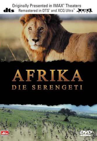 Afrika-die Serengeti Imax [Import allemand]