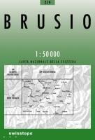 Swisstopo 1 : 50 000 Brusio