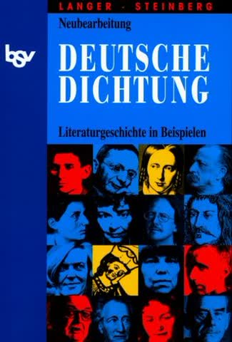 Deutsche Dichtung - Literaturgeschichte In Beispielen Für Den Deutschunterricht