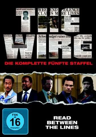 The Wire - Die komplette fünfte Staffel [4 DVDs]