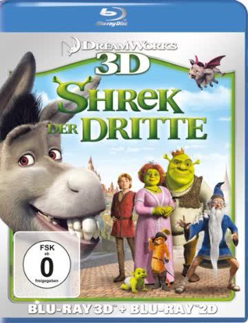 Shrek der Dritte 3D: Blu-ray 3D + Blu-ray